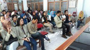 Penyambutan Mahasiswa KKN UNDIP dan UGM