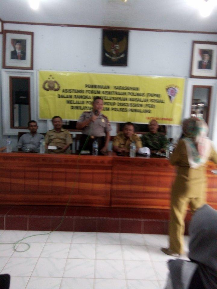 Binmas Polres Pemalang Adakan FGD di Desa Kaliprau